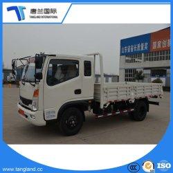 2.5-5tons 각자 Unl; Oading 평상형 트레일러 편평한 침대 또는 화물 바디 트럭