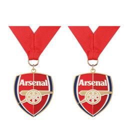 Médaille d'émail gaufré métalliques personnalisées comme cadeau souvenir (081)