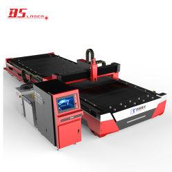 6000*2000mm Tabela única máquina de corte a Laser de fibra de metal com Controle Automático