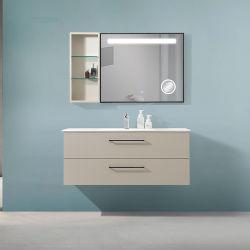 Armario Cutomized Superficie sólida pared colgado moderno cuarto de baño vanidad