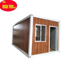 프레임 모듈 현대 20FT 40FT 저가 또는 Lowes 판매를 위한 싸게 작거나 작은 편평한 팩 기성품 결합된 조립식 Prefabricated 콘테이너 오두막 집 홈