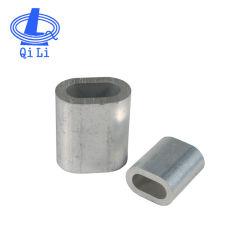 Puntali di alluminio di squillo DIN3093 per i manicotti della fune metallica