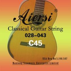 Aiersiのブランドの卸売の販売のための古典的なギターストリング