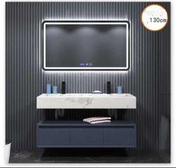 Монтироваться на стену современный отель дома туалет дерева меламина ванной комнате