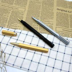 Cor dourada de alta qualidade Fountain Pen com conversor amovível