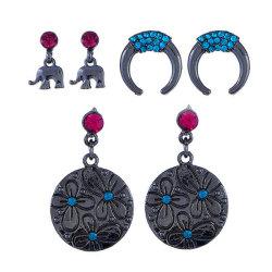 مجوهرات تصميم عتيق الجمال الفيل سحر ستود أللوي يتم إعدادها للفتيات