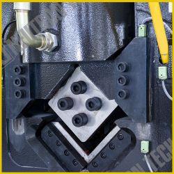 Poinçonnage CNC et de coupe automatique de la machine pour l'ACIER BARRE D'ANGLE