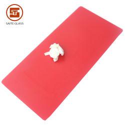 A impressão de seda vermelha Placa do painel de vidro temperado e revenido