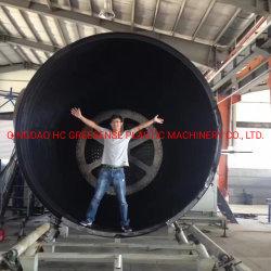 HDPEの機械を作るプラスチック空の壁の巻上げの管タンク放出Machine/HDPEタンク