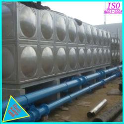 Tank van het Water van het Roestvrij staal van de Aanhangwagen van de Tank van de Stookolie de Semi