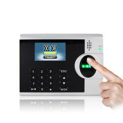 Le logiciel libre et le SDK d'empreintes digitales de fréquentation de temps système écran couleur TFT 3 pouces (3000T-C)