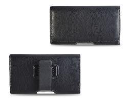 Presilha de cinto universal caso Estojo Capa de couro cintura bag bolsa com suporte de clipe para iPhone 8 7 6s 6
