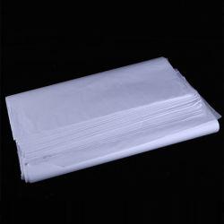 Оптовая торговля черным логотипом Custom ткани Бумага упаковочная бумага