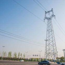 10kv-1100kv Transmissão de Energia Eléctrica do ângulo de ferro de aço galvanizado Torre
