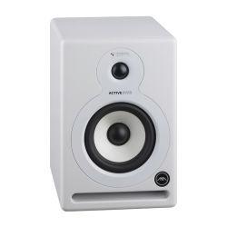 Ljz5 Cor Branco Studio Monitor ativo de alta qualidade com alto-falante woofer de fibra de vidro de 5,25 polegadas Bi-AMP