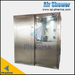 Acquazzone di aria dell'acciaio inossidabile automatico e del locale senza polvere di industria farmaceutica