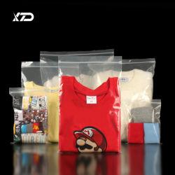 Único Logotipo personalizado Ecológico embalaje biodegradable resistente al agua cosméticos bolsa de plástico PE