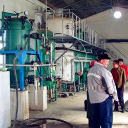 Пальмовое масло нефтеперерабатывающего завода по производству растительного масла 800 кг Complit мини Soyabean мельницы масла с НПЗ линии Иран микро НПЗ
