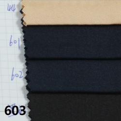 Stock de sarga de algodón Tencel imitación de Spandex tejido teñido de tejidos de prendas de vestir