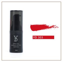 El maquillaje permanente Microblading orgánicos de tintas de pigmento de color de labios Rojo emoción