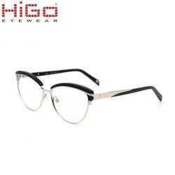 Het recentste Frame van de Glazen van de Douane van Eyewear van het Roestvrij staal van de Verkoop van China Hete