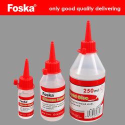 De Buena calidad de silicona Foska Oficina pegamento líquido claro