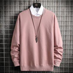 Ropa Hombre de Sweater cuello redondo Camiseta Long-Sleeved Retroceder Pullover wy02