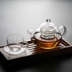 Glasware-Teekanne stellte mit Pyrex Glas und Glas Infuser ein