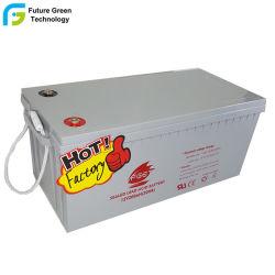 12 Volt 200Ah chumbo recarregável Bateria Industrial