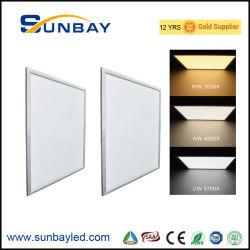 Cadre blanc PF>0,9 PF0.9 100lm/W 110lm/W 120lm/W Monté en Surface 600x600 600x600mm 600x1200mm 600x1200mm 36W 40W 45W 48W 50W à intensité réglable LED pour panneau de plafond plat