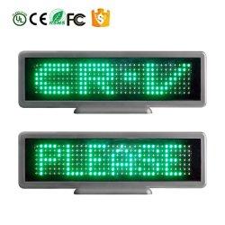 Un pH de 6 mm de 12 V de la série Desktop 735 vert// bleu / rouge / jaune / Conseil de l'information d'affichage à LED Blanche Carte de Bienvenue