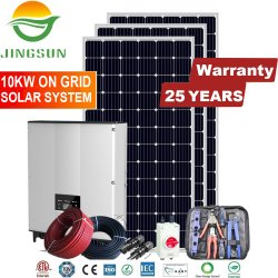 5kw poco costoso 10kw 15kw 20kw 25kw sulla griglia/sulla centrale elettrica legata griglia del comitato solare