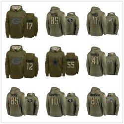 Homens Dallas Cowboys Agasalho Desempenho Salute Pulôver Capuz Sportswear