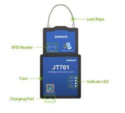 حاوية جهاز تعقب GPS قفل مانع التسرب GPS قفل القمر الصناعي لـ قفل الحاوية لمشروع مراقبة الحاويات الجمركية