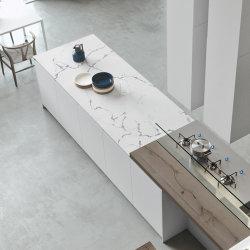 Hotel Projeto Quartzo Artificial laje de mármore Ladrilhos Bancada de cozinha branco cristal Contador de bancada topo Faux Stone tampos de mesa