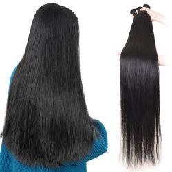 Remyの卸し売り安く長い巻き毛の100%年のペルーのインドのブラジルの自然なバージン人間のまっすぐな水波の毛の織り方
