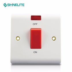 Fabrik-Zubehör BS-Bakelit-elektrische Wand USB-heller Schalter-Kontaktbuchse