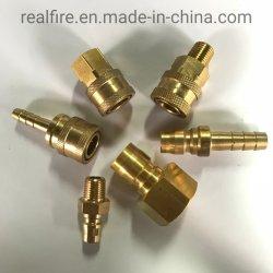 日本の真鍮型の油圧速いカップリング(MISUMIの標準)