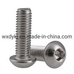 ISO7380 из нержавеющей стали с цилиндрической головкой винт с головкой под торцевой ключ