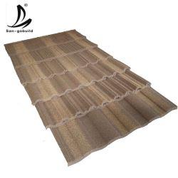 Anti-verdwijn Galvalume van het Zonnepaneel van Materialen Aluzinc Staalplaten van de Tegels van het Dak van de Dakspanen van het Dakwerk de Steen Met een laag bedekte Langzaam
