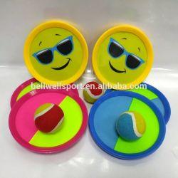 Flausch-Paddel-Kugel und Wurf-Spiel für Kinder, Familie vollkommen für Strand-, Spielplatz-und Hinterhof-Spiel