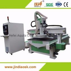 O PVC/Madeira/Acrílico Auto Mudança de ferramenta gravura CNC Router CNC e máquina de corte de mobiliário