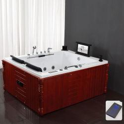 Masaje de 2 Persona Estándar americano bañera pequeña bañera de hidromasaje interior