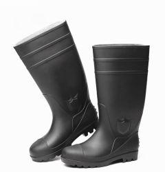 De rubber Laarzen van de Regen met de Teen van het Staal en de Zool van het Staal