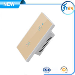 UK / US / EU Standard Global Network APP Control WiFi Smart Wall Electric Touch Light 1 Gang / 2 Wandfernschalter Mit 3-Gang-Schalter