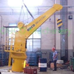 Плотный стрелы морской кран на палубе используется для подъема и погрузки компактная конструкция