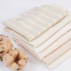 100% coton biologique Tissu jersey pour vêtements de bébé