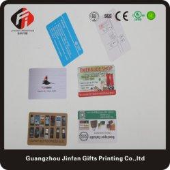 Vrije VIP van de Reis van de Producten van de Plastieken van de Steekproef Kaart met het Embleem van het Bedrijf van de Douane