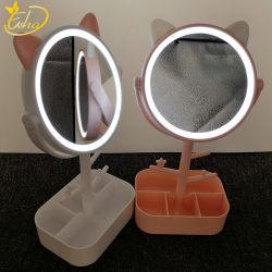 Smart Touch espejo de maquillaje de luces LED ajustable
