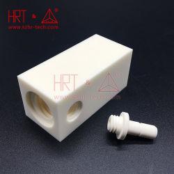 Cerâmica de alumina junta roscada Peças industriais peças de cerâmica